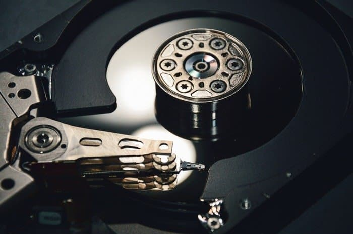 Hard Disk Drive in computer