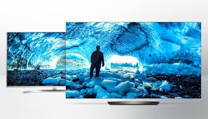 High Dynamic Range LG TV