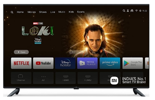 Mi 125.7 cm (50 Inches) 4K Ultra HD Android Smart LED TV 4X|L50M5-5AIN