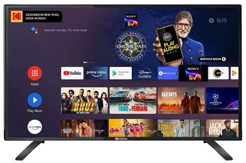 Kodak 80 cm (32 Inches) HD Certified Android LED TV 32HDX7XPRO
