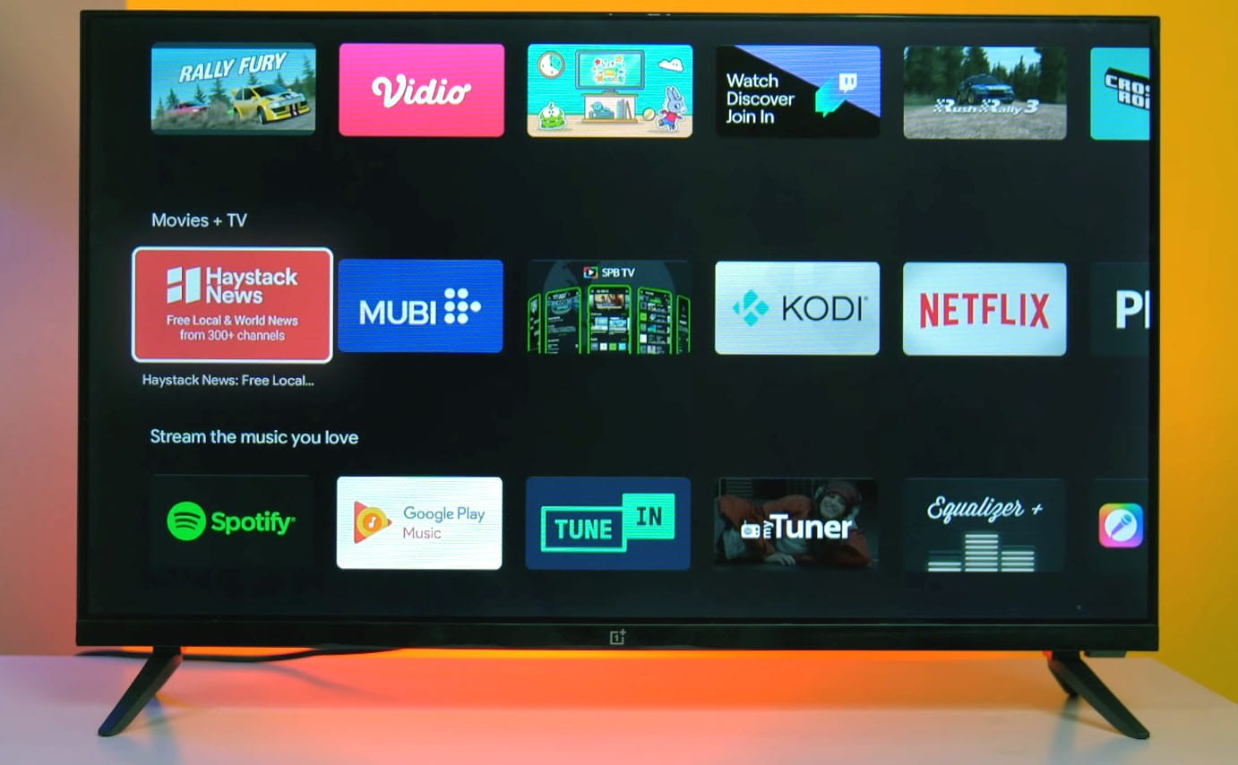OnePlus Y Series 32 inch HD Ready LED Smart Android TV 32Y1